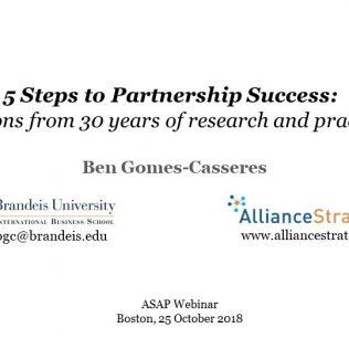 5 Steps to Partnership Success